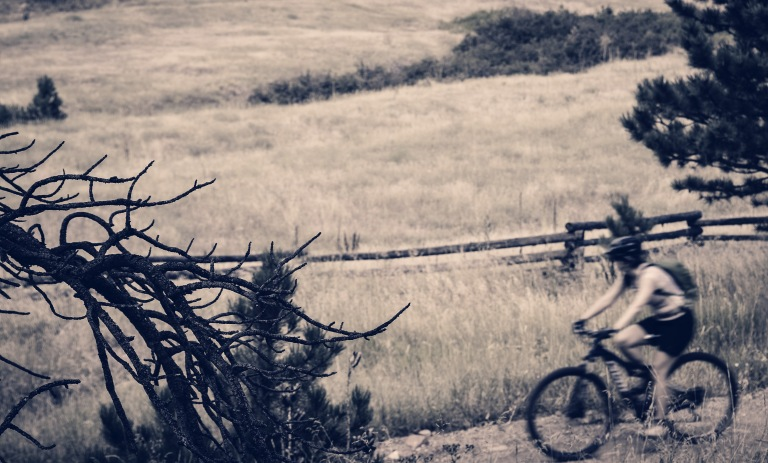 In paths untrodden.