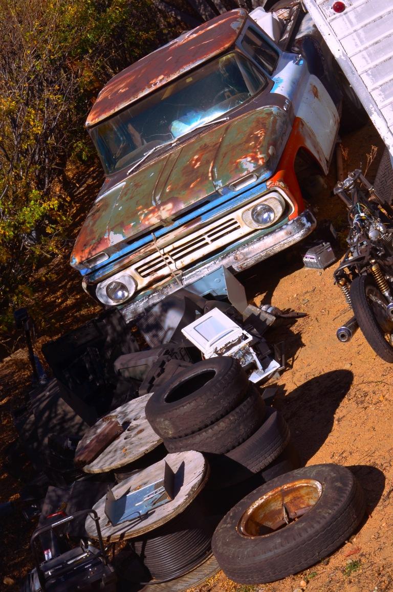 Rusty Car Series